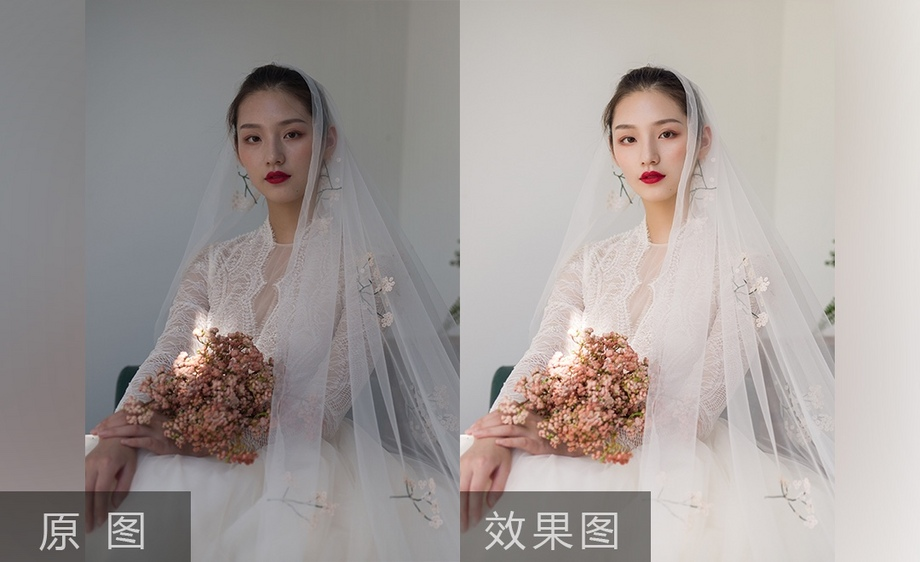 婚纱修图教程_婚纱情侣头像