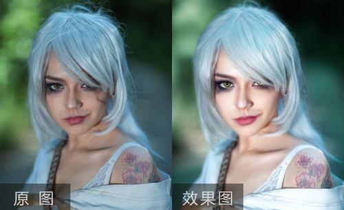PS-外国模特cosplay精修