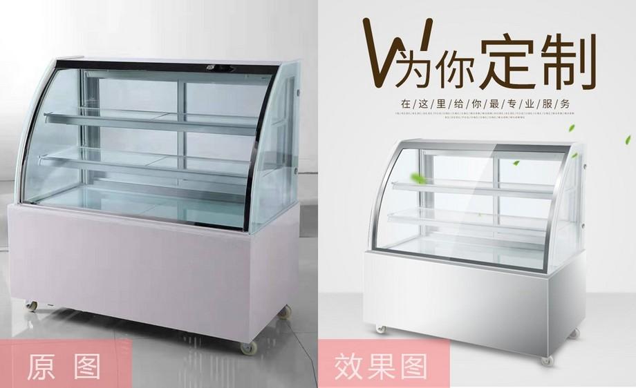 PS-金属玻璃展柜的产品精修(上)