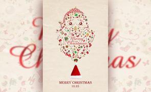 PS-圣诞老人创意海报
