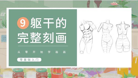 PS-人体基础-躯干细节刻画