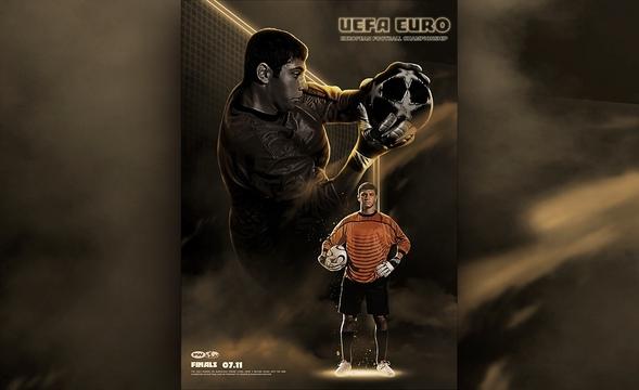 PS-足球先生海报设计