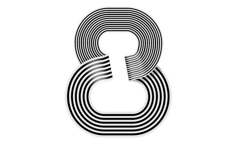 AI+PS-波纹立体字8