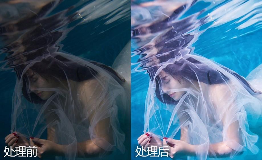 Ps-水下摄影的光线调节