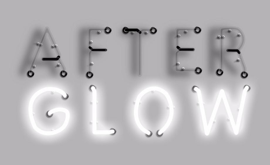 PS-灯管字GLOW