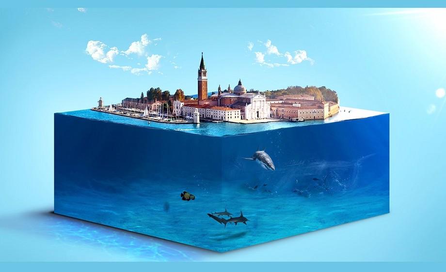 PS-水上之城-水立方合成