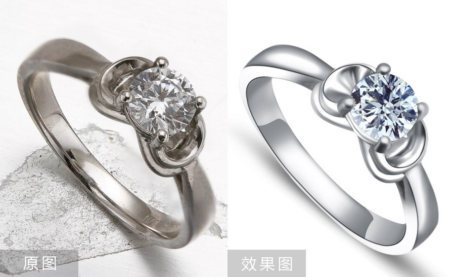 PS-钻石戒指精修