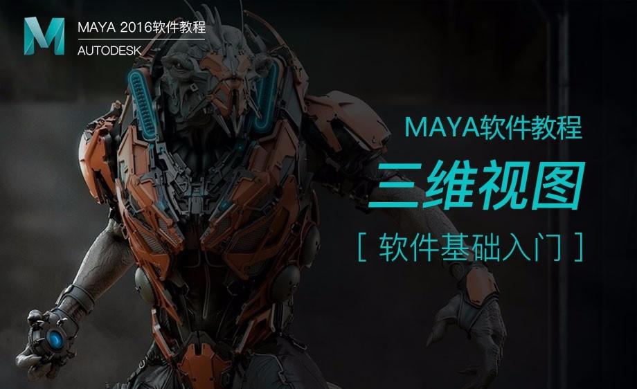 Maya-三维视图
