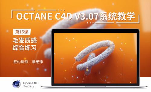 C4D-Octane3.07系统教学-15毛发质感综合练习