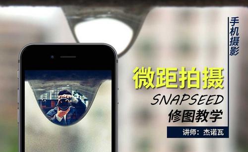 手机摄影-微距拍摄及snapseed修图教学
