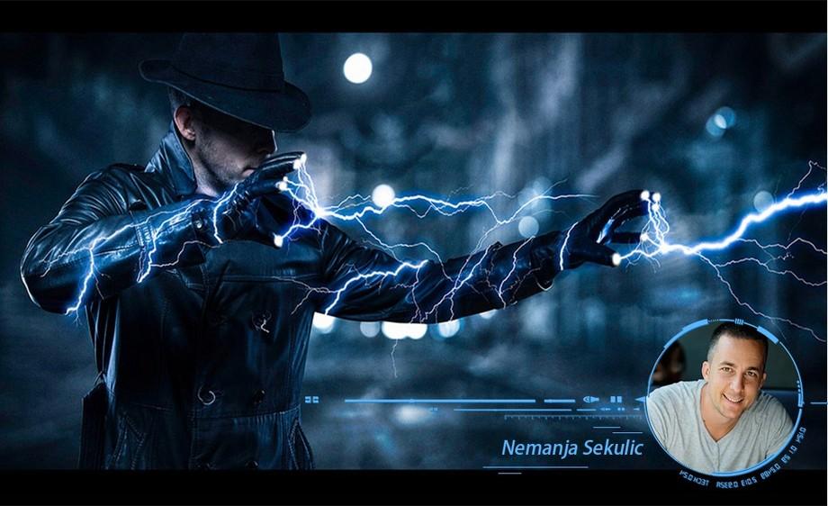 PS-国外顶尖名师教你玩转大片闪电特效