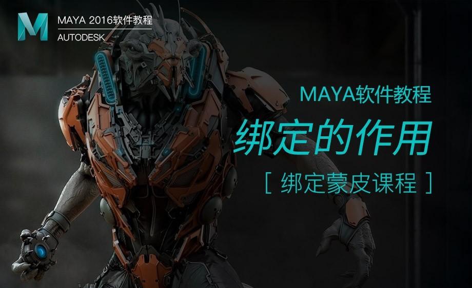 Maya-绑定的作用