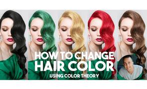 PS-合成大师教你轻松改变头发颜色