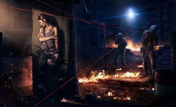 『杰克新作』夜景突袭-前景层次处理与光照效果