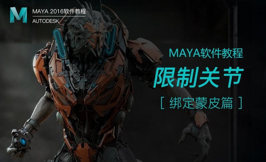 Maya-限制关节