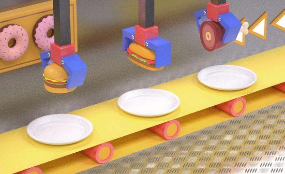 C4D-食品传输带(上集)