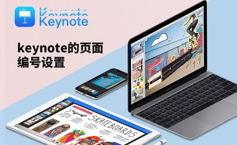 keynote-keynote的页面编号设置