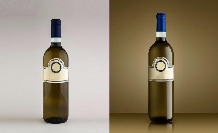 PS-葡萄酒酒瓶精修