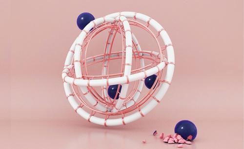 C4D-创意圆环案例