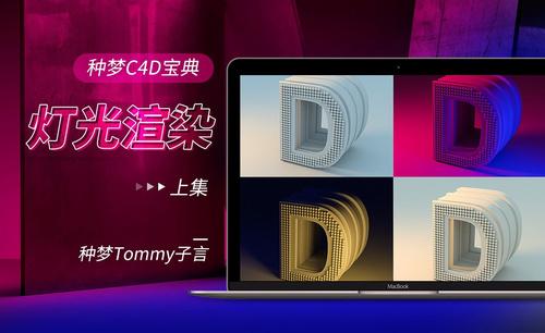 C4D-种梦C4D宝典—灯光渲染(上集)