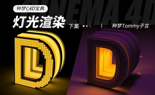 C4D-种梦C4D宝典—灯光渲染(下集)