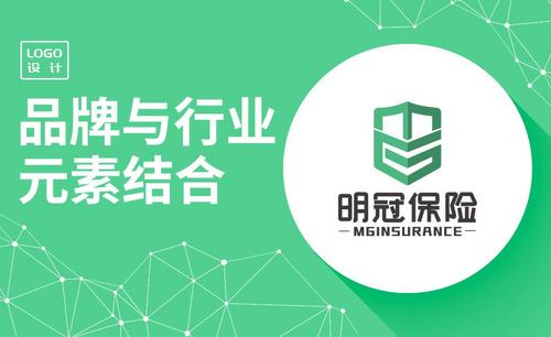 AI-保险品牌logo设计