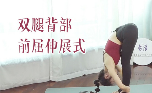 站立双腿背部前屈伸展式- 瑜伽动作视频教学