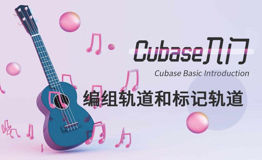 Cubase-编组轨道和标记轨道