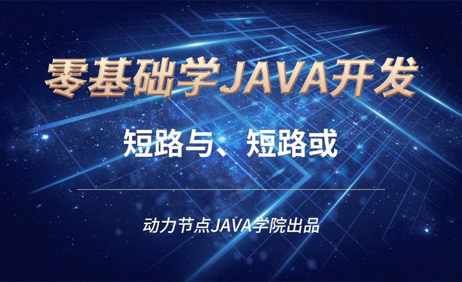 Java-短路与、短路或