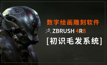 Zbrush-制作女性毛发