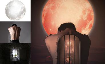 PS-月光少女创意合成