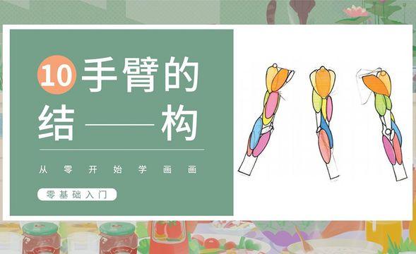 PS-人体基础-手臂的结构与画法