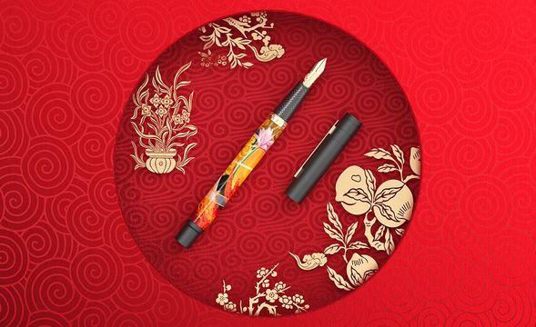 C4D+OC-国潮钢笔布线建模(上)