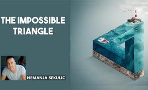 PS-海洋与不可能的三角形创意合成